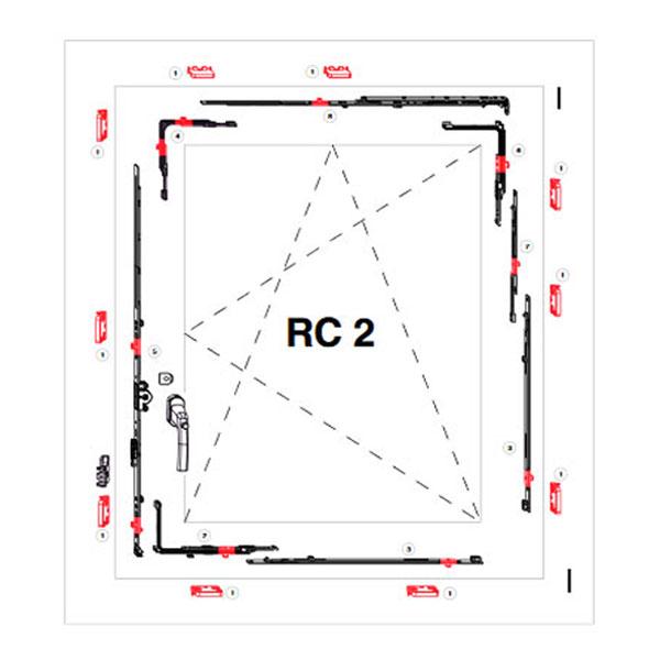 punti antieffrazione RC2